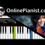 Lindsey Stirling – Electric Daisy Violin – Piano Tutorial