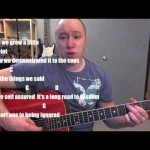Flowers in Your Hair- Guitar Lesson (TABS)- The Lumineers (Todd Downing)