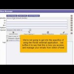 How to use webmail from within cPanel 11.32 x3 (2012)