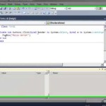 VB.NET Tutorial: The Hello World Program (The easiest way) (Visual Studio 2010,2012)