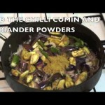 How to cook great Curry Brinjal aubergine eggplant recipe with peas