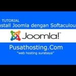 Installasi Joomla Dengan Softaculous By PusatHosting