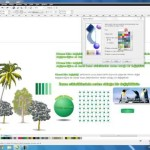Corel Draw X6 Find and Replace Objects uygulamasi.