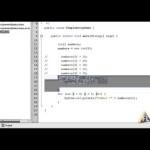 Learn Java Programming, Tutorial 13 : Simple Array and for each loop in Java