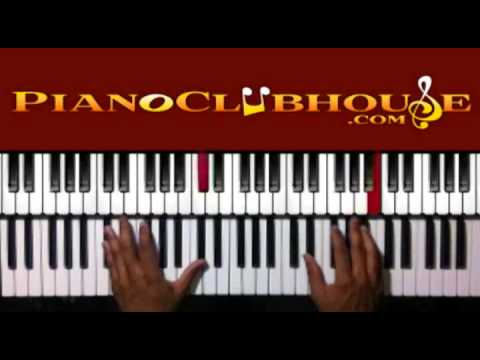how to play gospel piano